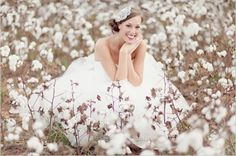 Field of Dreams: Outdoor Bridal Portraits | OCCASIONS