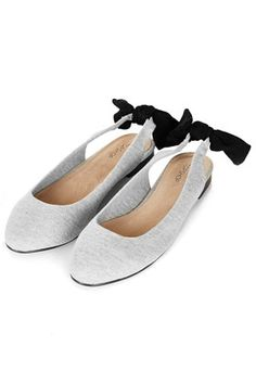 MILES Bow Sling Back Shoes