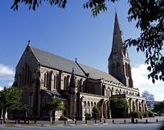 """""""The Anglican Cathedral of St Michael and St George Grahamstown Anglican Cathedral, Cathedral Church, Beautiful Buildings, Beautiful Places, Church Architecture, Church Building, Place Of Worship, St Michael, Travel Photos"""