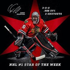 Corey Crawford Chicago Blackhawks Blackhawks Hockey 7060a6469