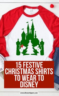 15 Festive And Hilarious Disney Christmas Shirts - Disney Trippers Disney Christmas Shirts, Mickey Christmas, Christmas Vacation, Family Christmas, Christmas Outfits, Christmas Clothing, Christmas Travel, Disney World Outfits, Athens
