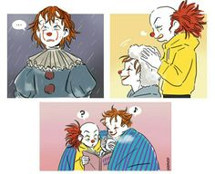 it, pennywise, and Horror Movie Characters, Horror Movies, Pennywise The Dancing Clown, It Pennywise, It The Clown Movie, Le Clown, Funny Horror, Mini Comic, Horror Icons