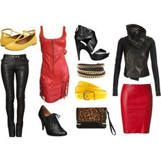 I love leather