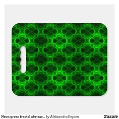 seat cushion created by AleksandraStepien. Stadium Seat Cushions, Stadium Seats, Logo For School, Optical Illusions, Neon Green, Fractals, Fundraising, Mosaic, Abstract