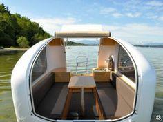 Der Sealander bietet zwei Schlafplätze und wiegt 380 Kilogramm., Copyright: SEALANDER / dmd