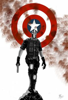 Crossbones Cover Art by Will Burton Crossbones Costume Revealed in Captain America: Civil War Set Photo