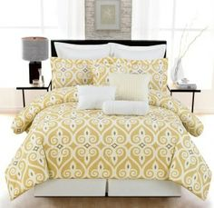 Looking for Yellow and Grey Bedding Collections?
