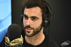 Marco Mengoni...showing just the right amount of scruff and general deshabille