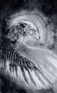 Loup aigle