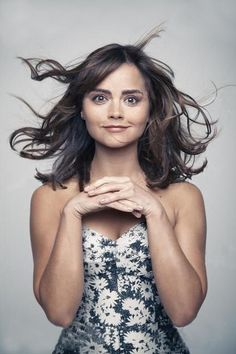 my favorites - Jenna Louise Coleman - wild hair girl Doctor Who Clara, Doctor Who Companions, Clara Oswald, Glamour Uk, Jenna Coleman, Dye My Hair, Blackpool, Beautiful Actresses, Pretty Face