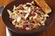 Three Cheese Chicken Penne Pasta – Applebees Style
