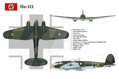 by WS-Clave. The Heinkel was a medium fast bomber which entered service with the Luftwaffe in It had light defensive armament and relied on speed to out-run enemy fighters. Luftwaffe, Camouflage, Ww2 Aircraft, Aircraft Photos, Daimler Benz, War Thunder, Aircraft Painting, American Fighter, Battle Of Britain
