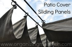 Patio Cover rings for sliding panels