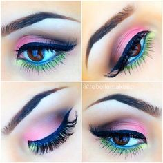 Absolutely Beautiful Garden  inspired eyes by ✨@rebellemakeup✨ ..