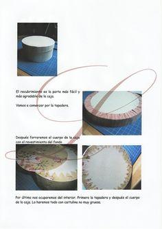 ¿Seguimos con el cartonaje?   Aprender manualidades es facilisimo.com Diy Box, Decoration, Decoupage, Plates, Tableware, Country, Craft, Decorated Boxes, Moldings