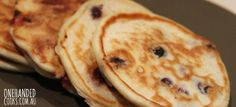 Family food: blueberry ricotta pancakes #onehandedcooks