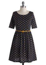 Drops of Honey Dress | Mod Retro Vintage Dresses | ModCloth.com  16 UK