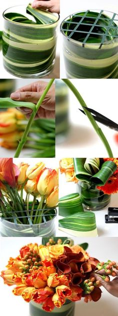 How To Make a Flower Arrangements at Home