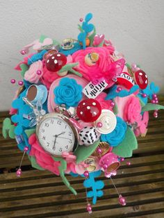 handmade customade wedding bride by muscariwhitesflorist