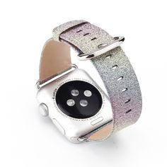 Cheap band patch, Buy Quality band cc directly from China band email Suppliers: Fashion Colorful Painting Leather Women Men Wrist Watch Band for 38/42mm Apple Watch Leopard Rainbow Design I128.USD 16.