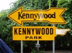 Kennywood Park: The arrow REALLY is their logo...simple yet effective.