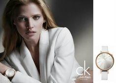 Lara Stone - Calvin Klein - ck Calvin Klein Watch & Jewelry Campaign F/W 12 Calvin Klein Ads, Calvin Klein Watch, Fashion Tape, Fashion Models, Fashion Beauty, Jewellery Advertising, Fashion Advertising, Lara Stone, Watch Ad