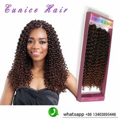 crochet braid hair synthetic braiding freetress braids water wave