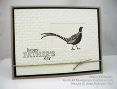 Stampin' Up! Autumn Days stamp set (retired).  Dawn Olchefske, demonstrator.