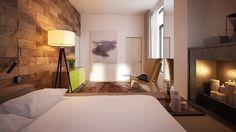Romantic bedroom decoration