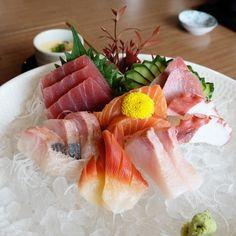 #sashimi #salmon #japanesefood #eeeeeats #foodie #foodporn #bkkrestaurant #tenyuusho #emquartier #lunch by first_131