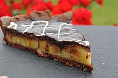 tarte choco-bananes