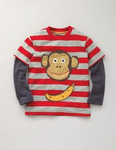 For my little monkey! Boden has the best applique shirts. Very well made!