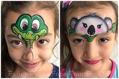 "151 Likes, 5 Comments - Fancy Pants Face Painting OZ (@fancypantsfacepaintingoz) on Instagram: ""#snake #koalabear #australian #commonwealthgames2018 #facepainting #facepaintbrisbane"""