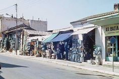 hania10 Athens Greece, Crete, Old Photos, Street View, History, Photography, 1960s, Colors, Old Pictures
