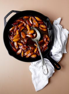 Brown Sugar Sauteed Peaches