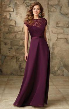 2015 Eggplant Bridesmaid Dress BNNCG0014-Bridesmaid UK love this dress