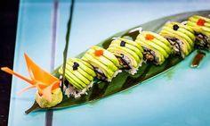 Sushi Roll's Yummy...  #Littlebuddha #Sharm #Redsea #Egypt https://twitter.com/littlebuddhassh http://instagram.com/littlebuddhasharm   https://www.facebook.com/littlebuddhassh https://plus.google.com/b/115051923175844310775/115051923175844310775/posts