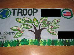 Girl Scouts/Boy Scouts/Campfire Troop banners by feltdeluxe