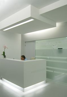 Dental Office, in Amarante, Portugal, by David Cardoso with Joana Marques.