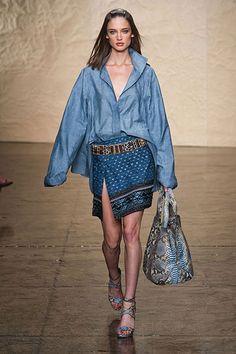 The Best Looks from New York Fashion Week: Spring 2014 - Donna Karan