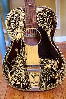 Sharpie Guitar #4 | by Telltale Crumbs