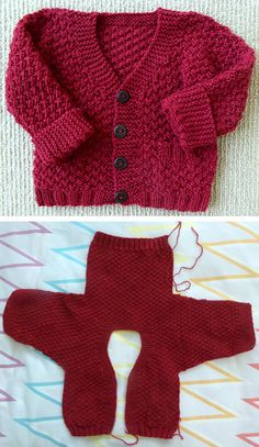 Checco's Dream This Knit pattern / tutorial is available for free. Boys Knitting Patterns Free, Baby Cardigan Knitting Pattern Free, Baby Sweater Patterns, Knit Baby Sweaters, Sweater Knitting Patterns, Easy Knitting, Knitting For Kids, Knitted Baby, Crochet Baby Clothes