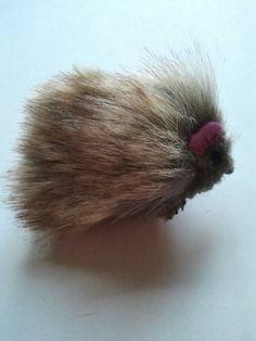 Handmade fluffy furry Hedgehog hamster guinea by CraftyBunnyDog