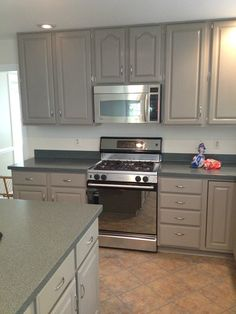 painted cabinets using Amy Howard paint
