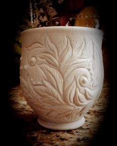Beautiful carvings by Grace DePledge Pottery <3