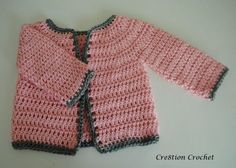 Abigail Baby Girl Cardigan 6-12 months This is the first sweater I have ever made let alone written a pattern for.    It is sweet and delicate and really easy to make.   This sweater would also be cute for a boy, using neutral or more gender specific colors.  I ended up not adding any [...]