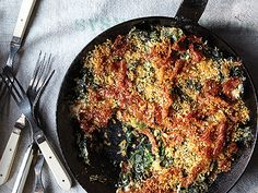 Collard greens gratin          Collard Green Gratin Recipe  | Epicurious.com Made this once and it is already my favorite collards recipe