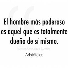 Frases celebres de Aristoteles