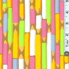 Kaffe Pencils Pastel. Fabric by Kaffe Fasset for Westminster. Available at Quilt Expressions.