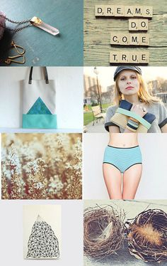 Dreams Do Come True by Vickie Moore on Etsy--Pinned with TreasuryPin.com